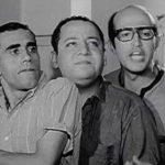 الاعضاء الاصليين لفرقة ثلاثى أضواء المسرح