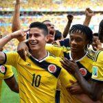 كولومبيا تقترب من التأهل بعد الفوز على ساحل العاج