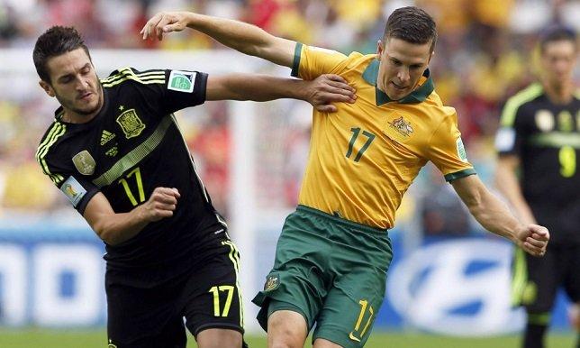 إسبانيا تحقق فوز معنوي على أستراليا