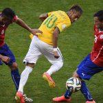 ركلات الحظ تنقذ البرازيل من تشيلي