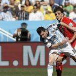 بشق الأنفس الأرجنتين تقصي على سويسرا