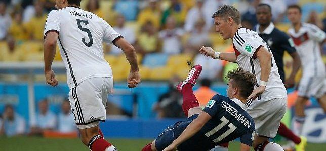 رأسية هاملز تقود ألمانيا لنصف النهائي وتقصي فرنسا