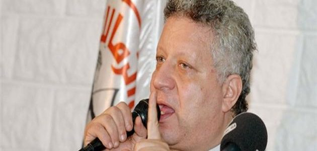 مرتضى منصور يتوعد بإيقاف باسم علي وشطب عمر جابر