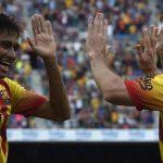 برشلونة يتغلب على بلباو في سباق الدوري الاسباني