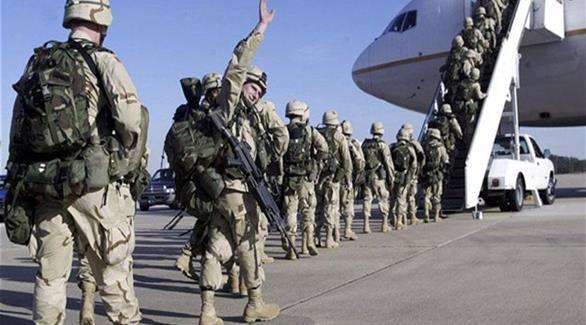 مشاة البحرية الأمريكية يدمرون أسلحتهم قبل مغادرة اليمن