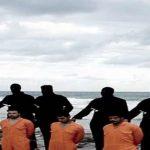 أهالي الأقباط المختطفين في ليبيا ينظمون وقفة احتجاجية بطلعت حرب صباح اليوم الجمعة