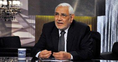 أبوالفتوح و حزبه يصف بيان 3 يوليو بالانقلاب على شرعية مرسى