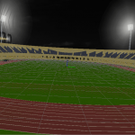 مباراة منتخب مصر أمام غينيا على ملعب بترو سبورت