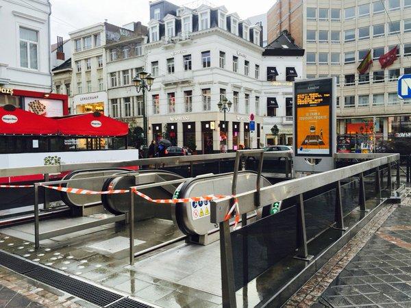 حالة تاهب فى العاصمة البلجيكية بروكسل