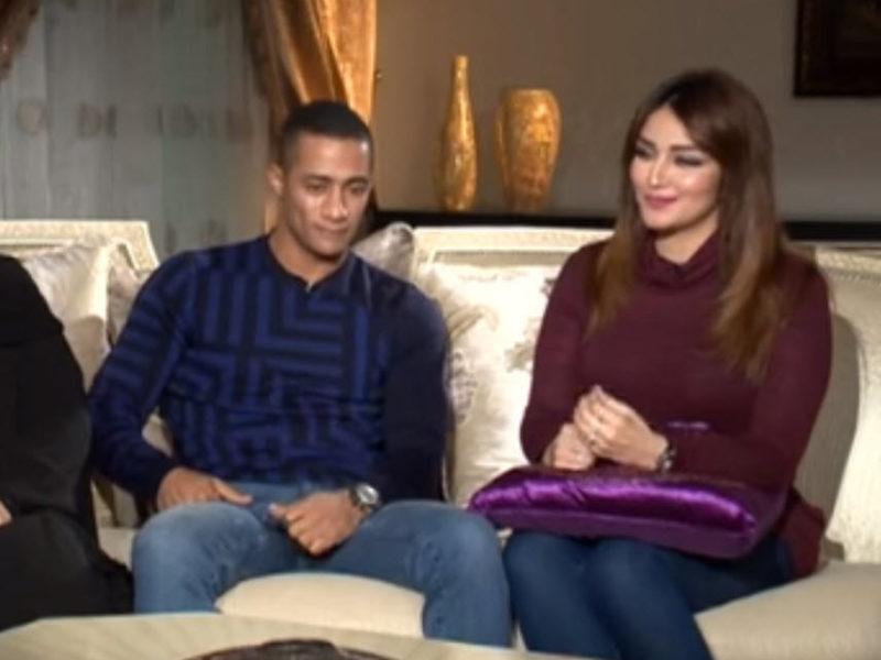 بالفيديو اول ظهور لزوجة الفنان محمد رمضان