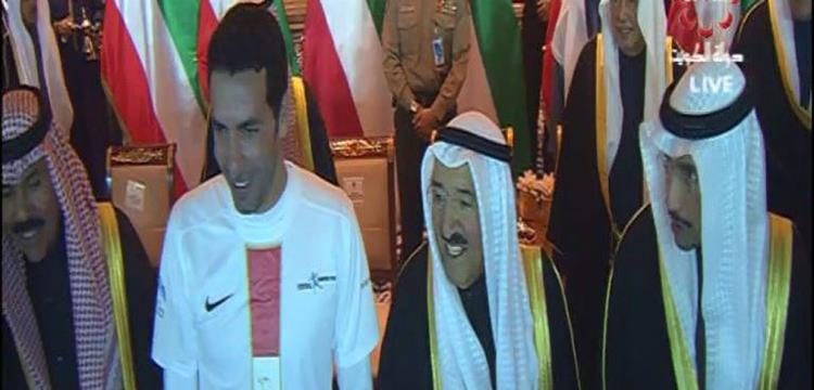 محمد أبو تريكة يتبرع بـنصف مليون جنية لصندق تحيا مصر