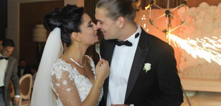 صور حفل زفاف ياسمين كساب وزوجها الروسي الذى اشهر اسلامه