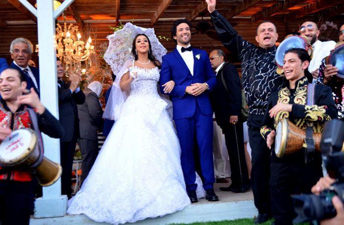 صور حفل زفاف حسن الرداد وايمى سمير غانم