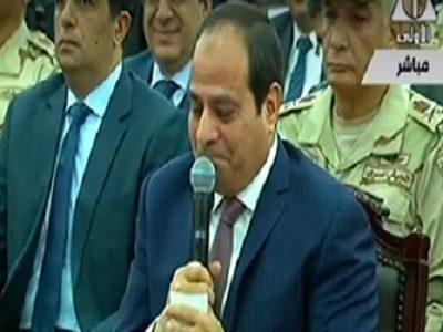 بالفيديو.. السيسي باكيا: نفسي أعمل كل حاجة علشان مصر