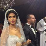 صور من حفل زفاف ساندي التونسية