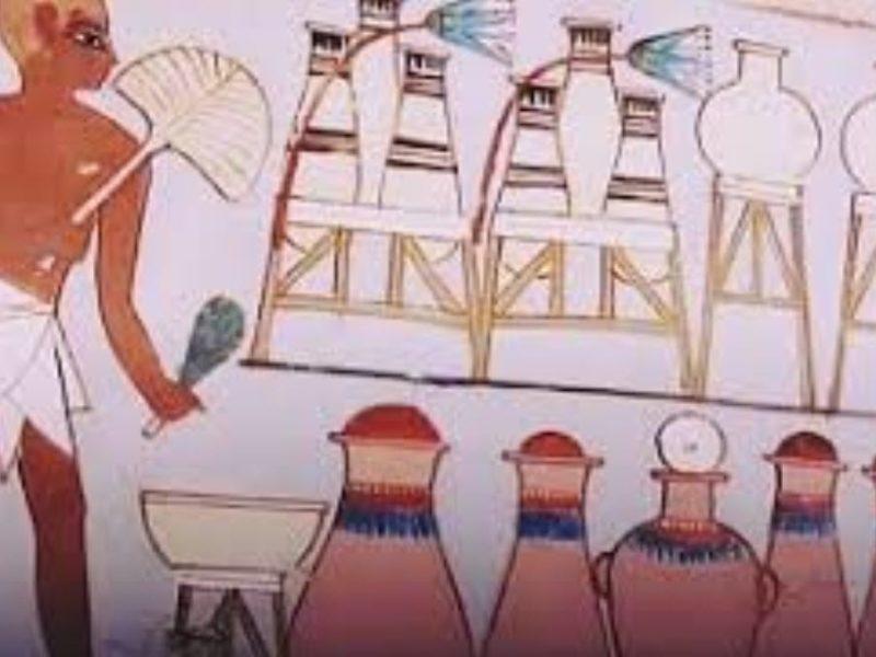 القرنة وإكتشاف مقبرتين أثريتين