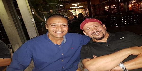 حميد الشاعرى يحتفل بعيد ميلاد هشام عباس