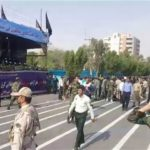 25 قتيلا و 60 جريح في هجوم علي موكب عسكري إيراني