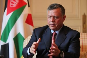 العاهل الأردني : يجب رفع الظلم عن الشعب الفلسطينيى