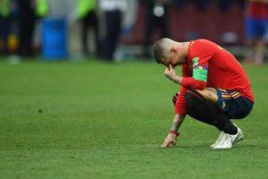 راموس يبرئ  نفسه من اذاء ودهس نجم المنتخب الانجليزي