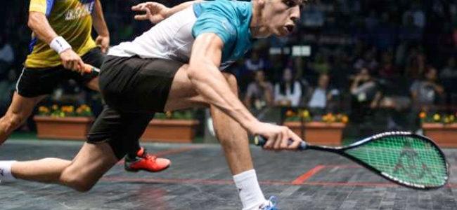 على فرج الي دور الـ16 فى بطولة أمريكا المفتوحة للاسكواش