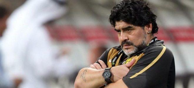 مارادونا : ميسي لايصلح ان يكون قائدا
