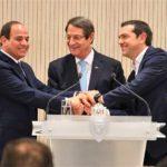 عقد قمه ثلاثيه بين مصر و قبرص و اليونان