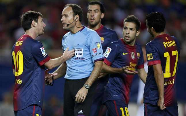 باولوروسو : الحكم اعتذر لبرشلونه بعد ضياع لقب الدوري الاسباني