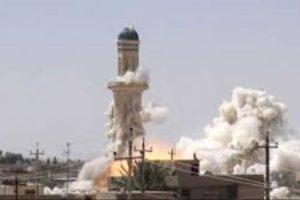"""""""ميليشيا الحوثي"""" يفجرون مسجدا في ذمار لرفض الأهالي خطيبهم"""