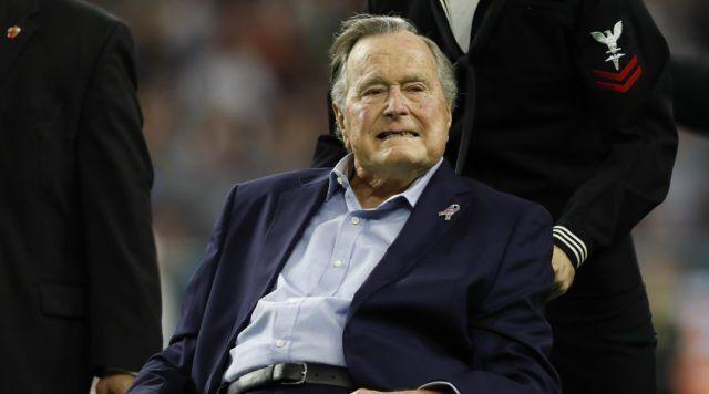 وفاه الرئيس الأمريكي الأسبق جورج بوش الأب