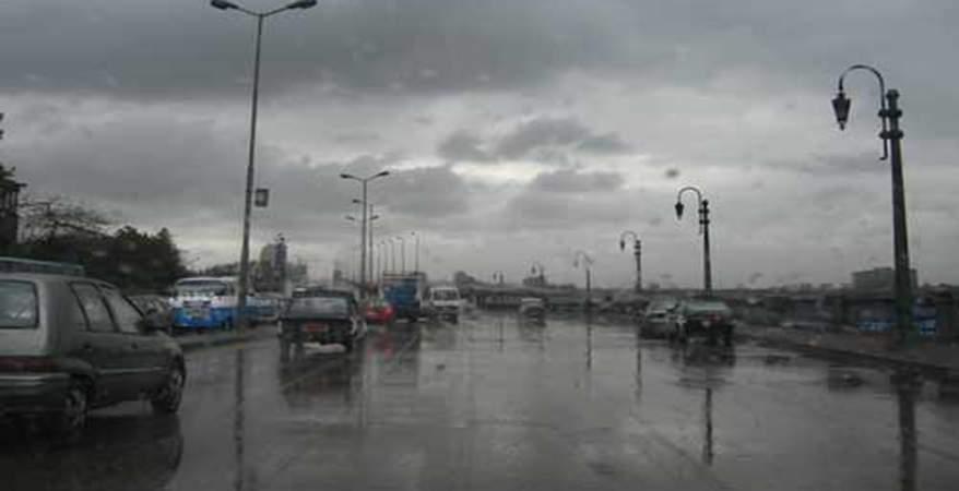"""""""الأرصاد"""" تحذر : غدا الطقس غير مستقر وتوقعات بهطول الأمطار في هذه المناطق"""