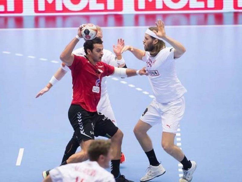 منتخب مصر لكرة اليد يكتسح تونس في القمة العربية بكأس العالم لكرة اليد