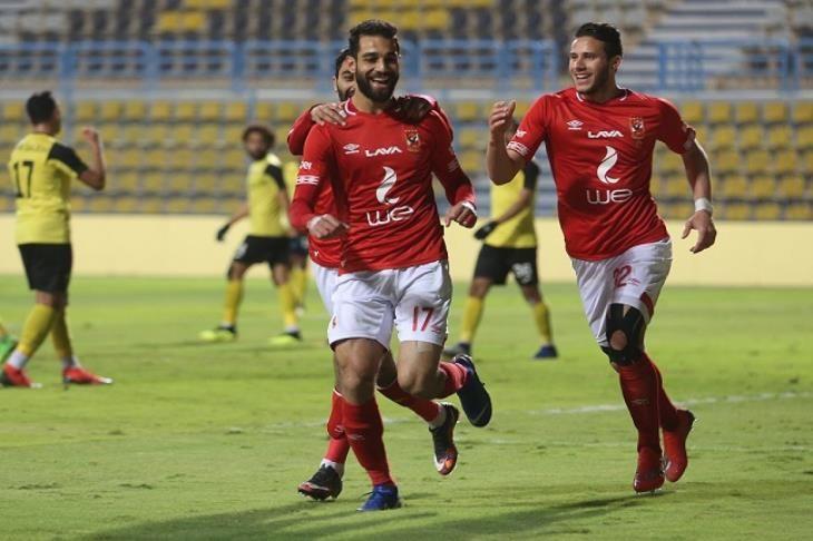 الأهلي يقترب من القمة بالفوز بثنائية على وادي دجلة بالدوري المصري