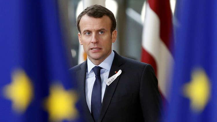 سوريا والعراق ماكرون يبقى القوات الفرنسية لمحاربة الارهاب