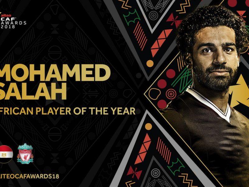 منتخب مصر ينظم ومحمد صلاح يتوج افضل لاعب افريقى لعام 2018 بالسنغال