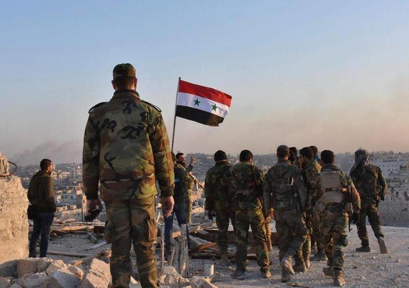 الجيش السوري يدخل بلدة حدودية بعد التوصل الى أتفاق لمواجهة العدوان التركي