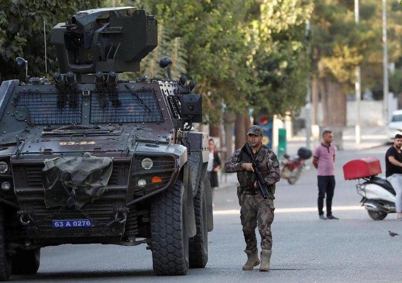 سوريا القوى العظمى تتلاقى على الحدود التركية السورية