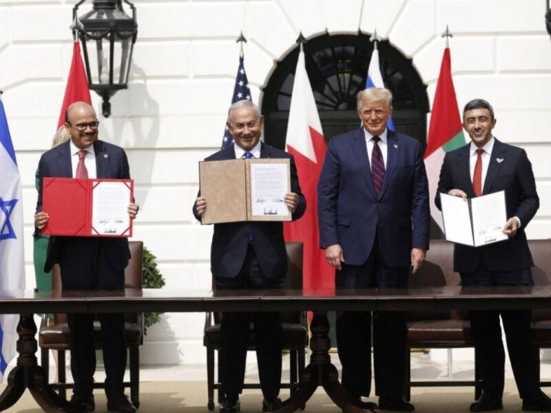 اتفاقية بين اسرائيل ، الامارات ، البحرين برعاية امريكية