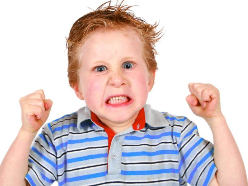 الغضب عند الطفل
