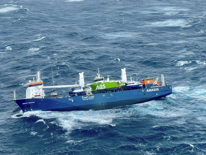 تأجيل حرس السواحل النرويجي لانقاذ سفينة مهجورة